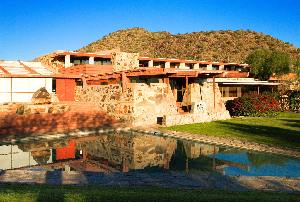 Wideworldofgeometry sample architectural new building for Az pond and pool
